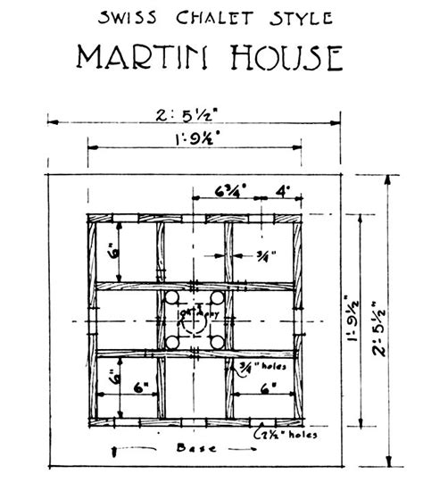 home building blueprints lovely purple martin house plans 4 purple martin bird