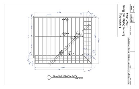 Free Patio Design Software free deck plan with pergola download full pdf blueprint