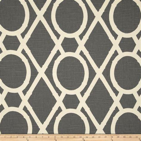 house pattern fabric robert allen home lattice bamboo greystone discount