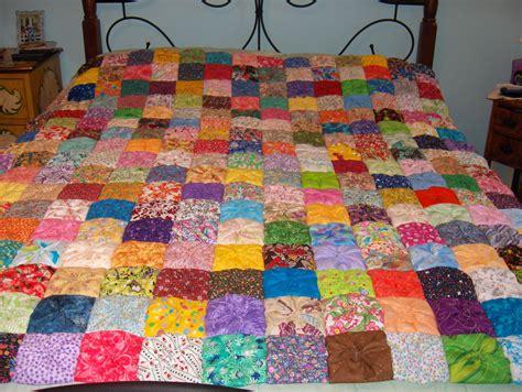 pattern for yo yo quilt square yo yo quilt