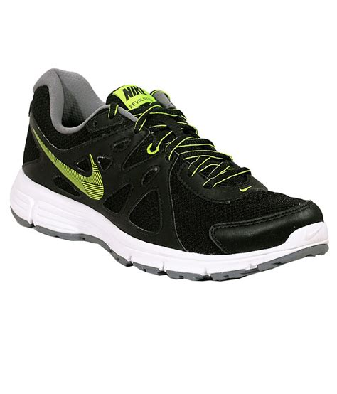 nike revolution 2 black sports shoes available at