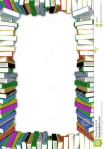 books frame stock illustration image of border learn