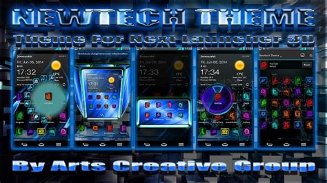 html android themes next launcher 3d theme quot newtech quot android forums at
