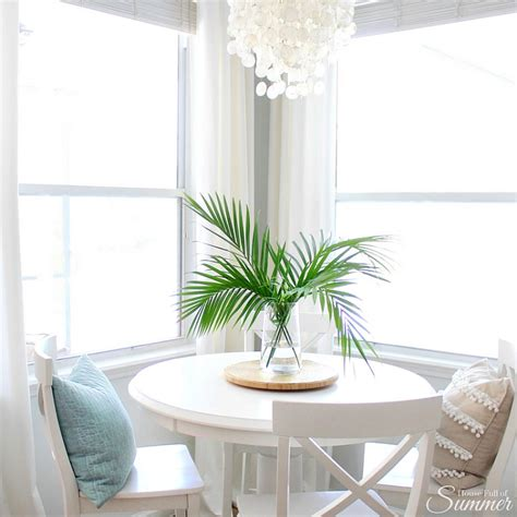 coastal dining room makeover sand and sisal long lasting easy decorating with greenery sand and sisal
