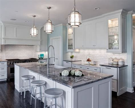 light gray granite countertops white and grey traditional kitchen google search