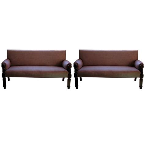 english country sofa matched pair of c19th english country house upholstered