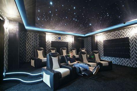 Home Theater Plans by Basement Villa Christina