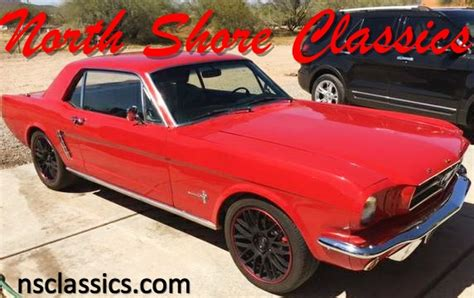 1965 ford mustang nice pony car stock 12565azsr for
