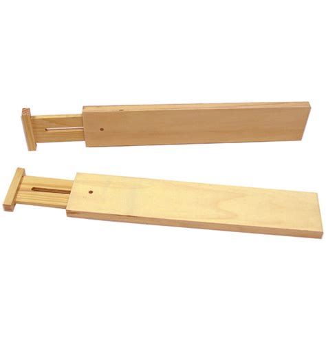 Drawer Dividers by Adjustable Drawer Dividers Small Set Of 2 In Drawer Organizers