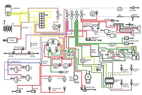 wiring diagram electrical instruments by lotuselan