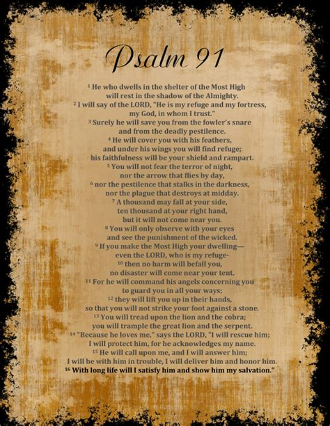 printable version psalm 91 psalm 91 psalm 91 bump and anna