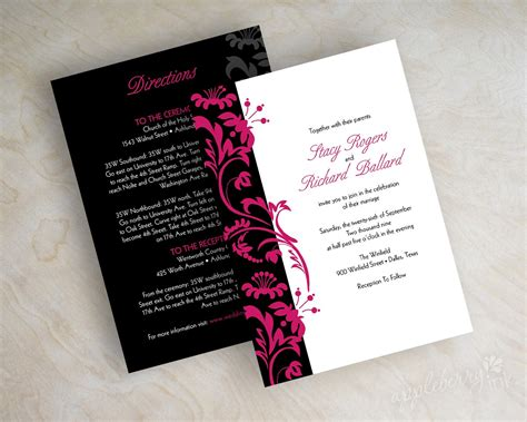 Wedding Invitation Modern wonderful modern wedding invites theruntime