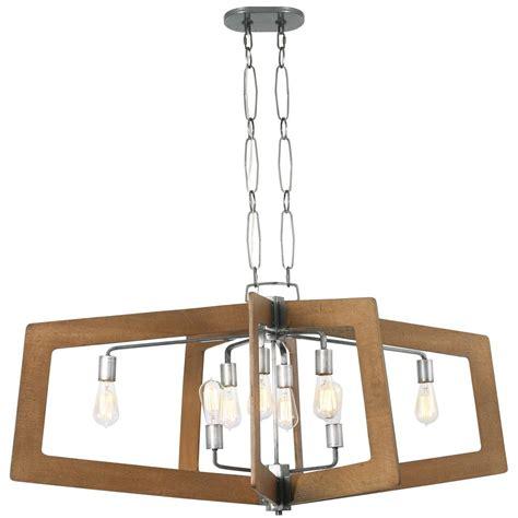 varaluz lofty 4 light varaluz lofty 8 light wheat and steel oval linear pendant