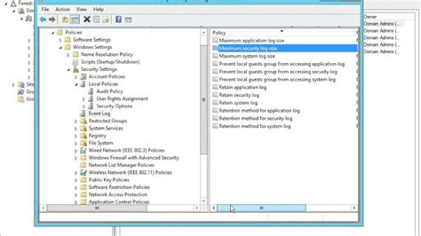 70 410 lab 17 configure audit policy windows server 2012