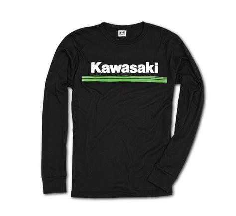 Hoodie Kawasaki Logo Black Station Apparel 2018 klx 174 250 dual purpose motorcycle by kawasaki
