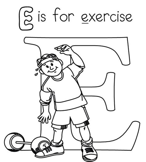 health coloring pages preschool fitness coloring pages wallpapers pictures coloring page