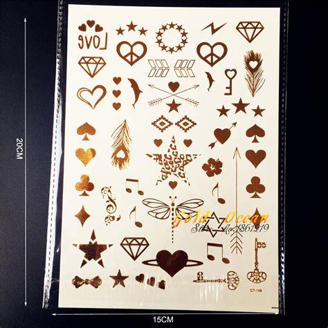 tattoo gold finger online kaufen gro 223 handel kleine sterne tattoos aus china