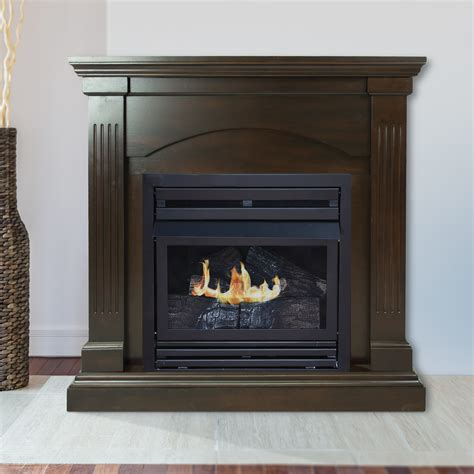 pleasant hearth   lp compact tobacco vf fireplace