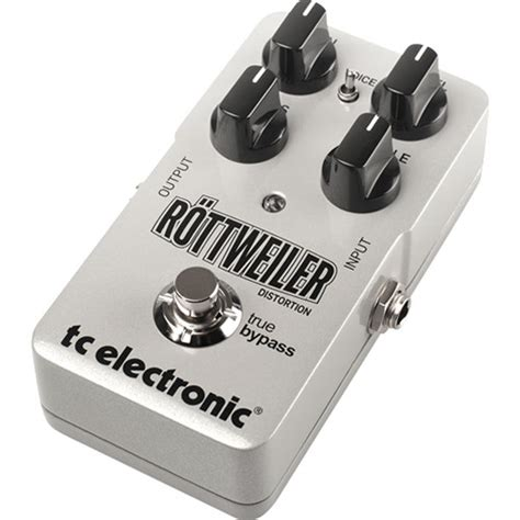 Tc Electronic Rottweiler Distortion Pedal tc electronic rottweiler distortion effects pedal