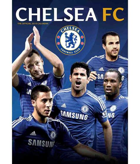 the official chelsea fc danilo official chelsea fc 2015 calendar buy online at best price in india snapdeal