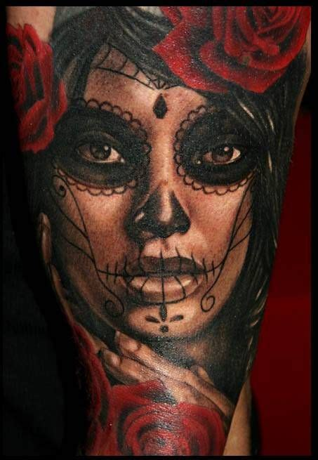 katrina tattoo la catrina on artists