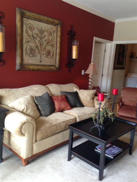 Beige Living Room Accent Wall Accent Wall And Then Doing A Beige Color Gold