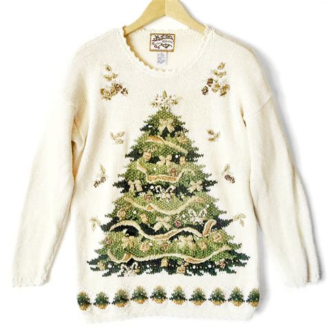 big christmas tree tacky ugly christmas sweater the ugly
