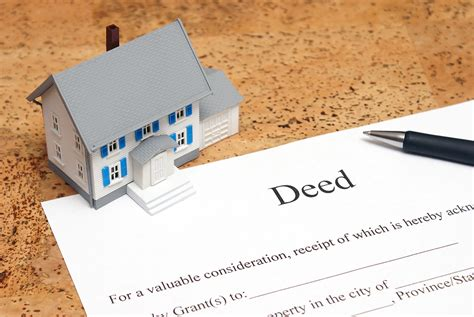 house title real property deed