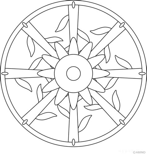 mandala coloring pages easy easy mandalas coloring home