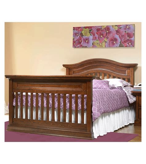 size bed rail bonavita sheffield size bed rail in walnut