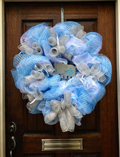 wreath baby shower baby shower wreath feeling crafty