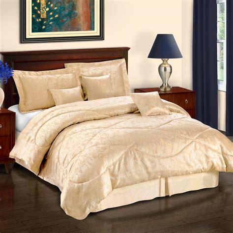 7 12 piece bedding comforter set shams decorative
