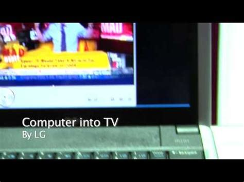 computer tv antenna  lg  ces  youtube