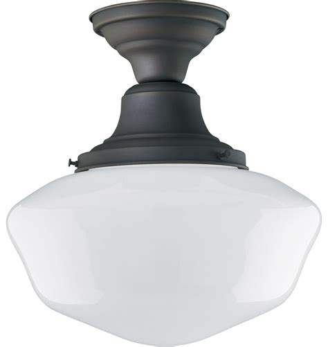 Rejuvenation Light Fixtures Jefferson 6in Semi Flush Rejuvenation