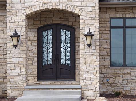 Front Door Arch Iron Door With Arch Top And Flemish Glass Front Doors Doors Iron And
