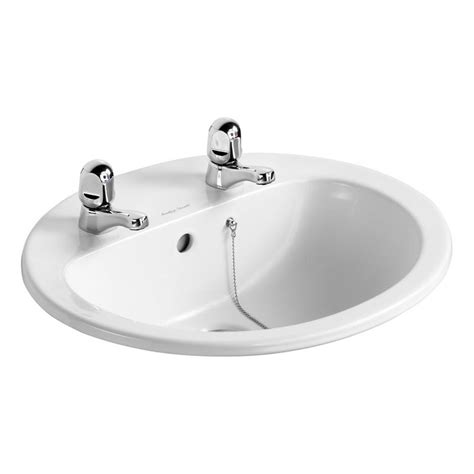 Armitage Shanks Vanity Units by Armitage Shanks Orbit21 55cm Countertop Basin 2th With