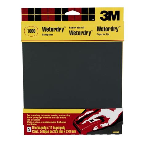 3m 9 in x 11 in 1000 grit ultra silicon carbide
