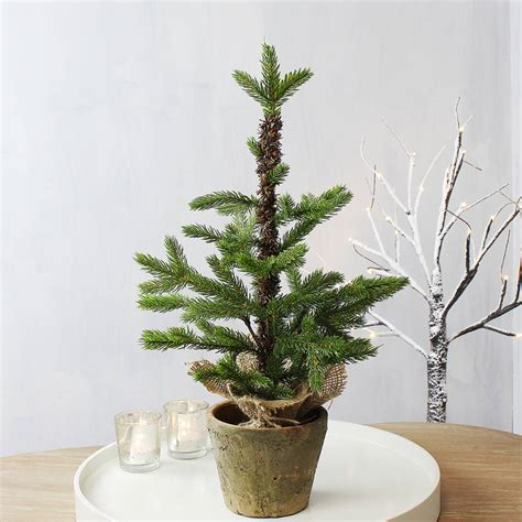 mini artificial christmas tree by marquis dawe