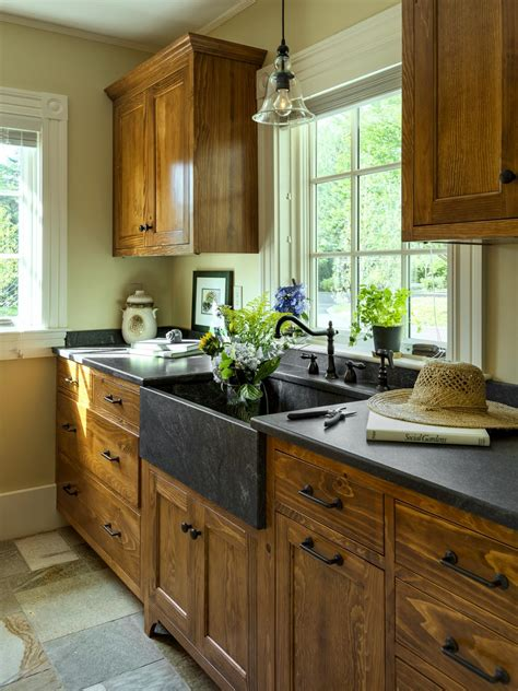 are stained wood kitchen cabinets out of style photos hgtv