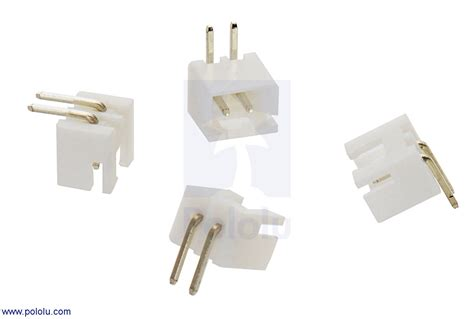 2 5 mm jst xh style shrouded connector 2 pin right angle 4 pack australia