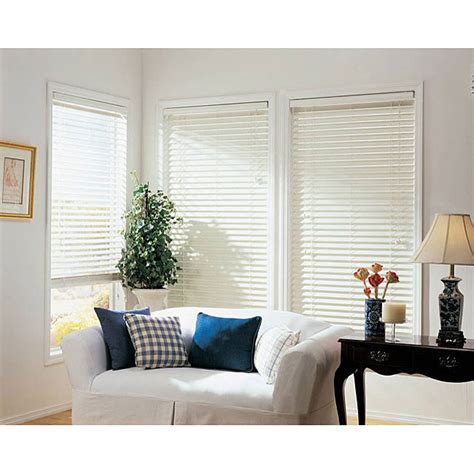 L Shades Overstock by Faux Wood 2 Inch Window Blinds 51 In X 64 In