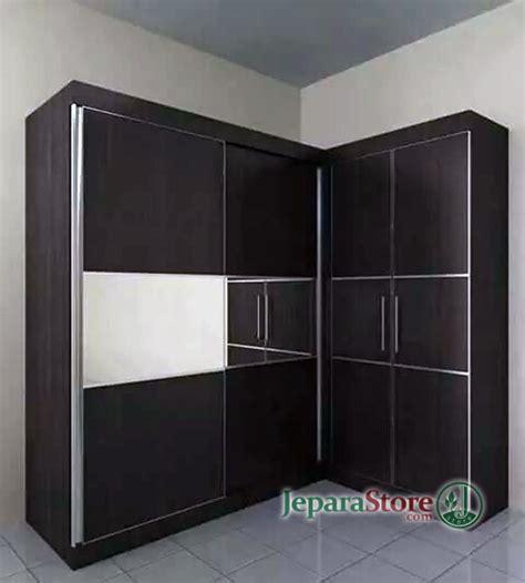 Lemari Sudut lemari pakaian minimalis sudut jeparastore