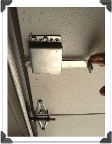 Garage Door Track Lock Tip Tuesday Savvy Garage Door Maintenance