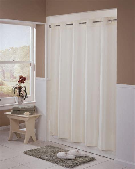 hotel brand shower curtain brand mandated hookless 174 shower curtain beige englewood