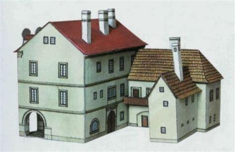 free paper model buildings downloads dům u splav 237 nů free building paper model download