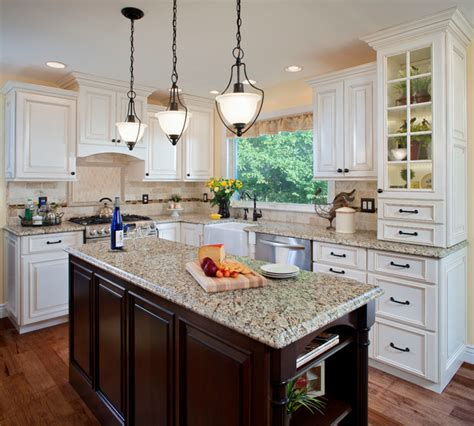country chic kitchen traditional kitchen st louis by sub zero wolf appliances by roth french country traditional kitchen st louis by