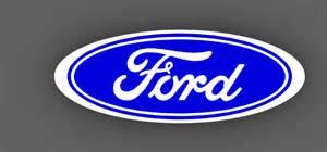 Ford Badge Ford Badge Solidworks 3d Cad Model Grabcad