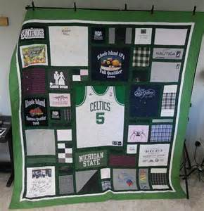 T Shirt Memory Quilts unique custom designed t shirt quilt memory quilt graduation quilt