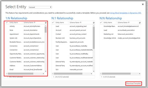 Microsoft Word Create Template by How To Create Microsoft Word Templates In Dynamics 365