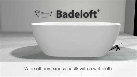 Freestanding Bathtub Installation by Badeloft Freestanding Bathtub Installation Using The Ez
